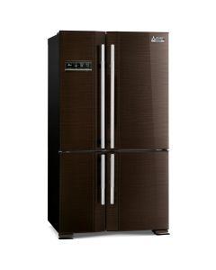 ตู้เย็น 4ประตู 20.5คิว MITSUBISHI MR-L65EM-BRW บราวน์เวฟไลน์