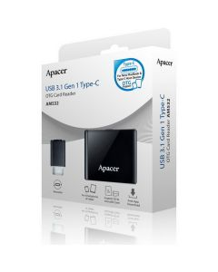 อุปกรณ์ TYPE-C OTG Card Reader (สีดำ) รุ่น APAM532B-1