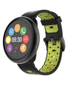 Mykronoz Smartwatch (Black/Black&Yellow) ZeROUND2 HR (Premium)