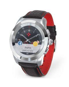 สมาร์ทวอทช์ (สี Silver/Black Carbon Red, Petite) รุ่น ZeTime Premium