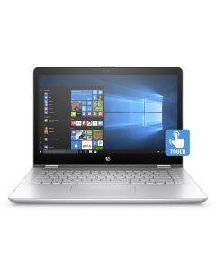 โน้ตบุ๊ค (14'', RAM 4 GB, HDD 1 TB) + กระเป๋า รุ่น Pavillion X360 14-CD0037TX/ 4JD21PA-AKL
