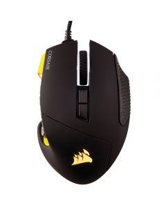 เมาส์เกมมิ่ง (สีดำ/เหลือง) รุ่น Scimitar Pro RGB
