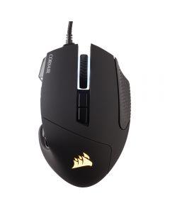 เมาส์เกมมิ่ง (สีดำ) รุ่น Scimitar Pro RGB