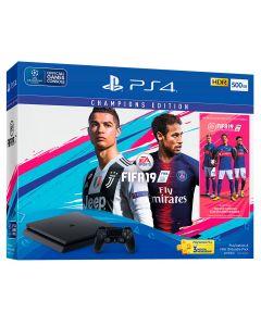 เครื่องเกมคอนโซล PS4 (500GB) รุ่น FIFA 19 Bundle Pack PLAS-10252HB