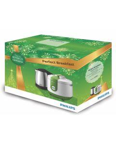 ชุดกิฟท์เซ็ท กาต้มน้ำ+หม้อหุงข้าว รุ่น HD9306+HD3119