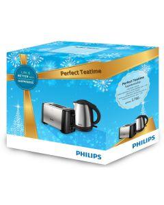 ชุดกิฟท์เซ็ท กาต้มน้ำ+เครื่องปิ้งขนมปัง รุ่น HD9306+HD4825