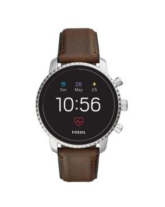 สมาร์ทวอทช์ (45มม., สี Brown Leather) รุ่น Gen4-Q Explorist HR