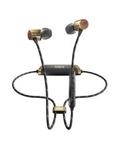 Marley In-Ear Bluetooth Headphone (Brass) Uplift 2 Wireless