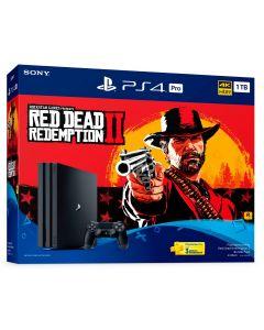 เครื่องเกมคอนโซล PS4 Pro (1TB) รุ่น Red Dead Redemption 2 Bundle Pack PLAS-10282HB
